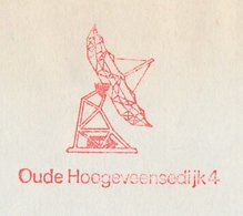 Meter Cover Netherlands 1978 Telescope - Foundation Radio Radiation Of Sun And Milky Way - Astronomie