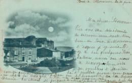 54 DIEULOUARD L'ANCIEN CHATEAU CARTE PRECURSEUR CIRCULEE 1901 - Dieulouard