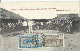 CONGO - Stock D'ivoire à OKOYO - ALIMA - , Socièté Alimaïenne ( Carte Voyagée ) - Französisch-Kongo - Sonstige