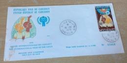 FDC Cameroun 1979 Année Internationale De L'enfant - Camerun (1960-...)