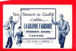Buvard Publicitaire La Grande Fabrique - Vêtements Bayard - TARARE 69 - Textile & Vestimentaire