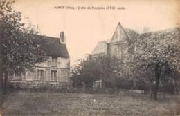 RARE  60 BARON JARDIN DU PRESBYTERE CIRCULEE SOUS ENVELOPPE - France