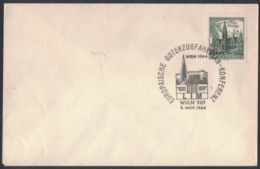 QS199   Austria, Österreich 1964 Special Postmark European Freight Train Timetable, Conference - Idee Europee
