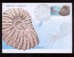 Abkhazia 2019 Prehistorical Fauna Sheetlets** FDC №25 - Altri - Europa