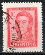 Argentina 1966 - Josè De San Martin Generale E Politico General And Politician - Argentinien