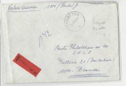 N°1027B-1649-1743 EYNATTEN S/l. Assurée 1975-1000FR V.Bruxelles.TB - Belgique
