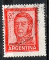 Argentina 1967 - Josè De San Martin Generale E Politico General And Politician - Oblitérés