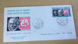 1 Enveloppe FDC Cameroun 1979 Sir Rowland Hill-1795-1879 - Camerun (1960-...)