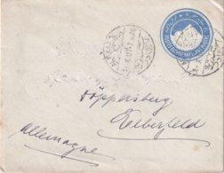 EGYPTE 1907    ENTIER POSTAL/GANZSACHE/POSTAL STATIONERY LETTRE DE ALEXANDRIA - 1866-1914 Khédivat D'Égypte