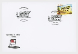 H01 Luxembourg 2019 Day Of The Stamp FDC - Ungebraucht