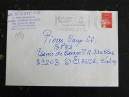 SAINT PERE EN RETZ - LOIRE ATLANTIQUE - FLAMME 20 ANS TERRE DE VIE SECOURS A L'ENFANT SUR MARIANNE LUQUET - Marcophilie (Lettres)