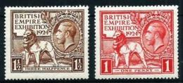 Gran Bretaña Nº 171/2 Nuevo* Cat.26€ - Unused Stamps