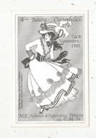 Cp, Bourses & Salons De Collections, 4 E Bourse Cartophile,1981, POITIERS - Bourses & Salons De Collections