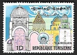TUNISIE   1975   - Y&T  810 -  Arts Populaires - Kairouan  - NEUF** - Cote 8.30e - Tunisie (1956-...)