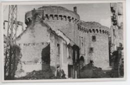 ° 56 ° HENNEBONT ° 1945 ° CHATEAU DE MONFORT - PRISON ° CARTE PHOTO ° - Hennebont