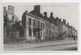 ° 56 ° HENNEBONT ° 1945 ° PLACE DU MARCHE ° CARTE PHOTO ° - Hennebont