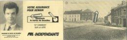 Bousval :  Place De L'église    (  Verso  élections )   Genappe - Genappe