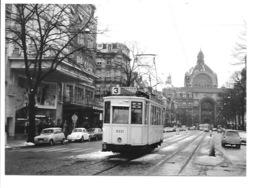 Antwerpen - De Keyzerlei - Tram Lijn 3 (Foto 1968). - Antwerpen