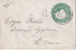 EGYPTE 1897     ENTIER POSTAL/GANZSACHE/POSTAL STATIONERY LETTRE DE ALEXANDRIA - 1866-1914 Khédivat D'Égypte