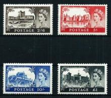 Gran Bretaña Nº 283/6 Nuevo Cat.360€ - 1952-.... (Elizabeth II)