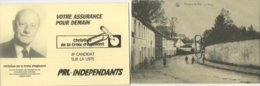 Houtain-Le-Val  : Le Village  (  Verso  élections )   Genappe - Genappe