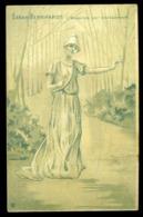 Cpa Sarah Bernhardt Regardez Par Transparence    LZ123 - Contre La Lumière
