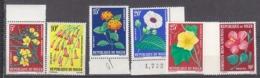 B0699 -  NIGER Yv N°135/140 ** FLEURS FLOWERS - Niger (1960-...)