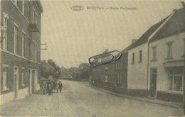Bousval :  Route Provinciale   (  Verso  élections )   Genappe   (  2 Scans ) - Genappe