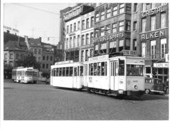 Antwerpen - Astridplein - Tram (Foto 1968). - Antwerpen