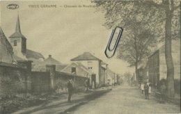 Vieux Genappe :  Chaussée De Nivelles    (  Verso  élections )    (  2 Scans ) - Genappe