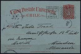 1887, Chile, P 15, Brief - Chile