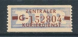 DDR Dienstmarken B 20 Kennbuchstabe G Original ** Mi. 35,- - Dienstpost