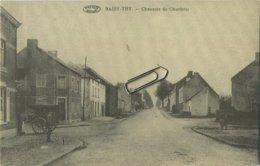 Baisy-Thy :  Chaussée De Charleroi     (  Verso  élections )   Genappe   (  2 Scans ) - Genappe
