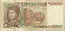 5000 Lire  - ANTONELLO DA MESSINA - [ 2] 1946-… : Repubblica