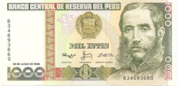 1000 INTIS ( 1988 ) - Peru
