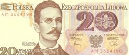 20  ZLOTY  (1982)+50  ZLOTY (1988)+100  ZLOTY (1988) - Pologne