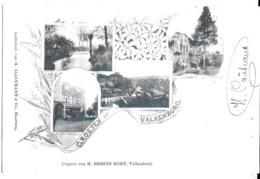 """1 Ansichtkaart 1902 - Groeten Uit Valkenburg - """"Au Bon Marché"""" - Waterval Te Geulen - Gezicht - Ruïne - Valkenburg"""