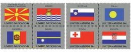 Ref. 158722 * MNH * - UNITED NATIONS. New York. 2001. FLAGS OF UN MEMBER COUNTRIES . BANDERAS DE LOS ESTADOS MIEMBRO DE - Sin Clasificación