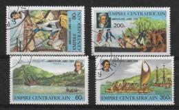Empire Centrafricain James Cook - Celebrità