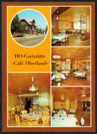 C7969 - TOP Neuhaus  Am Rennweg - HO Gaststätte Cafe Oberland - Verlag Bild Und Heimat Reichenbach - Neuhaus