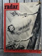 Radar - N° 565 - 04/12/1959 / Gérard Philipe / Onassis / JL Barrault / Brigitte Bardot / Le Clemenceau / Pin-up / BD - Informations Générales
