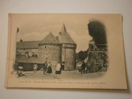 72 Sillé Ancien, Place Des Minimes En 1868. Carte Inédite (A6p38) - Sille Le Guillaume