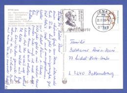 BRD MWSt JENA, Optisches Museum, Der Jenaer Glasdoktor Otto Schott 1995 Auf AK - Marcophilie - EMA (Empreintes Machines)