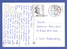 BRD MWSt JENA, Optisches Museum, Der Jenaer Glasdoktor Otto Schott 1995 Auf AK - [7] Federal Republic