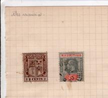 2 Timbre Mauritius - Mauritius (1968-...)