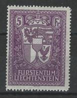 SBK 121, Mi 142  * MH - Liechtenstein
