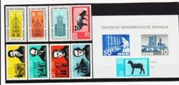 YZO766 DDR LOT 1963 MICHL Nr. 945/55 ** Postfrisch ZÄHNUNG SIEHE ABBILDUNG - Ungebraucht
