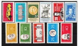 YZO767 DDR LOT 1960 MICHL Nr. 789/99 ** Postfrisch ZÄHNUNG SIEHE ABBILDUNG - Ungebraucht