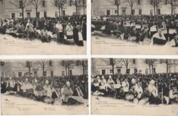 58 NEVERS  Funérailles De Mgr Lelong 19 Novembre 1903 La SERIE De 10 Cartes (1 à 10) - Nevers
