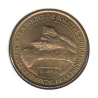 71001 - MEDAILLE TOURISTIQUE MONNAIE DE PARIS 71 - Musée La Roche De Solutré - 2002 - 2002